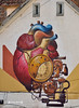 Coração Tridimensional (José M. F. Almeida) Tags: tridimensional third coração rua urban art graffitis graffito covilhã wool