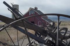 Ag-gear @ Mac (Rocky Pix) Tags: aggearmac farm implements dickensbarn silo agricuturalheritagecenter mcintosh lohr pastoral agriculture highway 66hygienelongmontbouldercountycoloradofoothillsrockiesrockypixrockymountainpixw michel kiteleyf32150thsec55mm55mm f35 micronikkor tripod