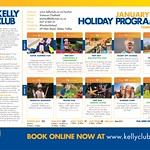 Kelly Club - Tawhai - 8th Jan til 19th January Holiday Programme 2018