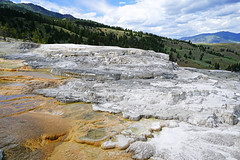 Amazing view from Mammoth Hot Springs, Yellowstone NP, USA (Andrey Sulitskiy) Tags: usa yellowstone wyoming