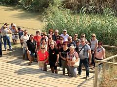 1 - Zarándokok a Jordán folyónál / Pútnici pri rieke Jordán