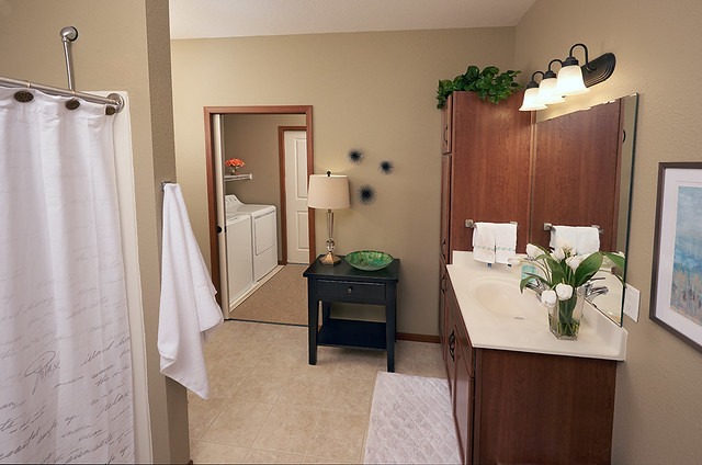 Senior Living Apartment Bathroom