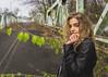 SAMMY (Greyson Rose) Tags: blonde model girl woman leather winter black abandoned urbanexploration urbandecay blue eyes