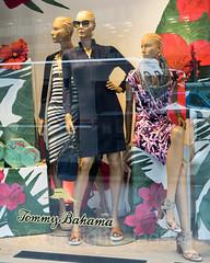 2017 Tommy Bahama Holiday Window Display, Midtown Manhattan, New York City (jag9889) Tags: 2017 2017holidaywindowdisplay 20171130 5thavenue christmas display fashion fifthavenue holiday manhattan mannequin midtown ny nyc newyork newyorkcity outdoor reflection sign storewindow tommybahama usa unitedstates unitedstatesofamerica window jag9889