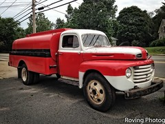 1949 Ford Oil Truck (robtm2010) Tags: plainville massachusetts ma usa newengland iphone iphone5 truck motorvehicle vehicle ford oiltruck 1949