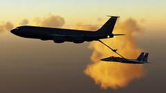 Refueling_8 (The_SkyHawk) Tags: world f15 eagle usaf refueling air force dcs digital combat simulator flight flying jets aviation virtual flightsim