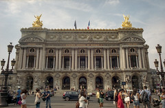 Paris: Palais Garnier (McFarlaneImaging) Tags: 2015 35mm 400 a1 asa400 analog architecture canon day europe eurotrip fd film france fromage iso400 kodak mci operahouse palaisgarnier paris portra slr travel vacation mcfarlaneimagingcom îledefrance fr