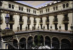 Alfonso XIII (Nrbelex) Tags: canon dslr 5dmkiii nrbelex ef2470mm 2470mmf28 2470mm 2470mml 5diii widegamut adobergb argb widecolorspace spain seville sevilla no8do hotelalfonsoxiii alfonsoxiii courtyard historic neomudéjar