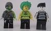 Puke, Toxanne, Drainbo (Quickblade22) Tags: superpowers supervillains comics comicbook custom brickforge