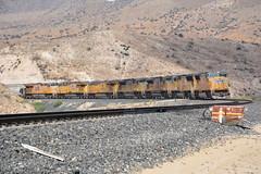 Power move/ consist (Rail explorer) Tags: up cajonpass silverwood palmdalecutoff