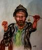 Title- Kashmiri, (Imagination of Tamal Sen Sharma) Tags: art painting fineart watercolor watercolour man humanfigure kashmiri