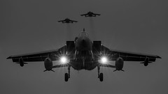 Timing.... (Steve Cooke-SRAviation) Tags: sraviation 500mm 5d3 canon silhouette explore explored tonka royalairforce twilight marham sunset 31sqn 15sqn 7d2 raf 5d4 afterburner tornado