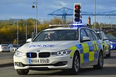 NX64 DSU (S11 AUN) Tags: cleveland police bmw 330d 3series touring anpr traffic car roads policing rpu 999 emergency vehicle nx64dsu