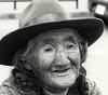 Alte Peruanerin (Rainer ❏) Tags: altefrau fraumithut porträt portrait sanpedromarkt inkahauptstadt cusco peru sw bw bn rainer❏