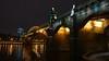 Night light (LanaBes) Tags: moscow city bridge river night light sky москва город река мост свет набережная
