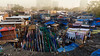 Dhobi Ghat District (leftaway) Tags: dhobi ghat district mumbai bombai hindu hindi washing ancient slums ghetto manual indian india maharashtra street blue red