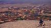 On top of Aït-ben-Haddou (Ginger Firefox) Tags: morocco morroco moroco morrocco maroc gadventures sand landscape morocan view sable paysage marocain vue aïtbenhaddou man