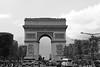 Arc de Triomphe (Léon Burri) Tags: monuments arcdetriomphe paris architecture placedelétoile architechts crazy