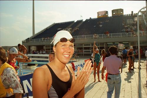 546 Swimming EM 1991 Athens