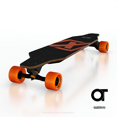 a05_D (omardex) Tags: photoshop electric product mockup otoy octanerender c4d skateboard skate board