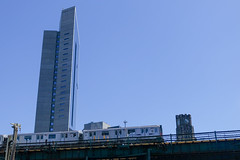 clocktower used to be the tallest thing in town (nicknormal) Tags: 7subway 7train longislandcity queensplaza