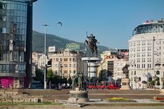 Skopje - Makedonija ploštad (Македонија плоштад) (Añelo de la Krotsche) Tags: скопје skopje makedonijaploštad македонијаплоштад македонија macedonia macédoine