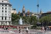 Looking across the Placa de Catalunya (Steve Barowik) Tags: barcelona port cruise spain spanish espana catalonia catalan catalunya larambla lasramblas nikond750 fx fullframe nikonafs28300f3556gedvr barowik stevebarowik sbofls26 holiday mediterranean unlimitedphotos wonderfulworld flickrelite quantumentanglement lovelycity barca