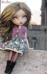 Parisian Soul | Berlioz @Lovely-Kaléa (Little Queen Gaou) Tags: meeting rencontre garden jardin winter hiver photographies photography inspiration architecture pullip doll groove