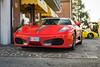 Ferrari F430 (lu_ro) Tags: ferrari f430 italian design italy sony a7 50mm samyang maranello modena spotting
