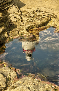 Hook Lighthouse reflection