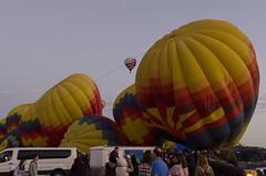 Balloon Rides (rschnaible) Tags: albuquerque international balloon fiesta new mexico hot air transportation vehicles color colorful festival sightseeing sport