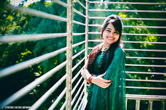 Cute Girl Potrait (lingkon44) Tags: cute girl potrait beatiful lady fashion saree bangladeshi