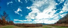 sky drama (avflinsch) Tags: ifttt 500px autumn sky blue clouds outdoor fisheye wide drama