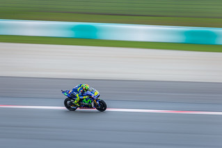 Rossi on high speed