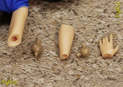 """№ 494. Elbow and Wrist Hinges for """"Fat"""" Barbie Doll (OylOul) Tags: 16 doll barbie joint hinge"""