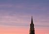 Aurora (Le dahu) Tags: sky aurora church cloud clouds color colorful light d610 fx 50mm france gers darktable belltower