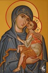 Икона Божией Матери (Умиление)
