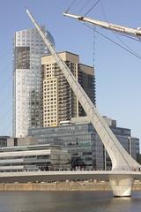 woman´s bridge (Martin Michajłyszyn) Tags: bridge woman´sbridge architecture puertomadero buenosaires puente puentedelamujer arquitectura
