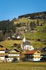 Ramsau (patoche21) Tags: autriche eglise europe paysages voyages zillertal chalet paysagerural patrickbouchenard austria church village building lodge montagne mountain ramsau