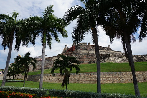 "Castillo San Felipe de Barajas • <a style=""font-size:0.8em;"" href=""http://www.flickr.com/photos/28558260@N04/38785549482/"" target=""_blank"">View on Flickr</a>"