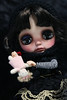 Berta Burton (Nepenthe (Sutura Workshop)) Tags: nepenthe sutura workshop doll blythe custom custo carving chips eyelids collector cute carved eyes faceup full fc girl hair japanese lips lids makeup muñeca maquillaje natural ooak plastic realistic pullring sad ooakdoll blythecustom customblythe dollartist timburton burton spooky crazy dark gothic