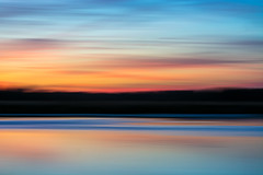 """It's not what you look at that matters, it's what you see."" (hmthelords) Tags: blue sunset peaceful nature bay abstract beautiful orange water activeassignmentweekly negativespace"