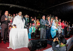 encendido_luces_navideñas_plaza_colon (Gobierno Autónomo Municipal de Cochabamba) Tags: luces navidad plaza colon