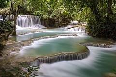 Kuang Si Falls, Luang Prabang, Laos (volker.meier) Tags: waterfall laos kuangsifalls
