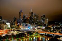 Moody Hues (radio4) Tags: city urbanlife skyline night light melbourne vic australia