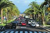 street with palms :) (green_lover) Tags: street palms cars tenerife playadelasamericas spain town trees travels traffic