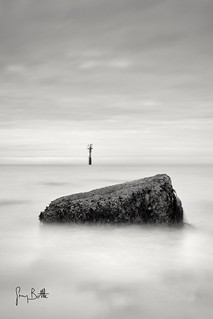 On the Rocks. Margate seascape.