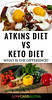 Atkins diet vs keto diet (Stephen G Pearson) Tags: atkinsdietvsketogenicdiet atkinsvsketo lowcarb keto ketogenic ketosis lchf atkins diet nutrition health whats difference