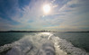 Leaving Auckland (Andy.Gocher) Tags: andygocher canon100d newzealand auckland sea seascape boat ferry sun sunset