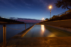 The Geoff James Pool (Clovelly Ocean Pool) (David Marriott - Sydney) Tags: clovelly newsouthwales australia au ocean sea pool geoff james sydney nsw dawn sunrise long exposure star swimming